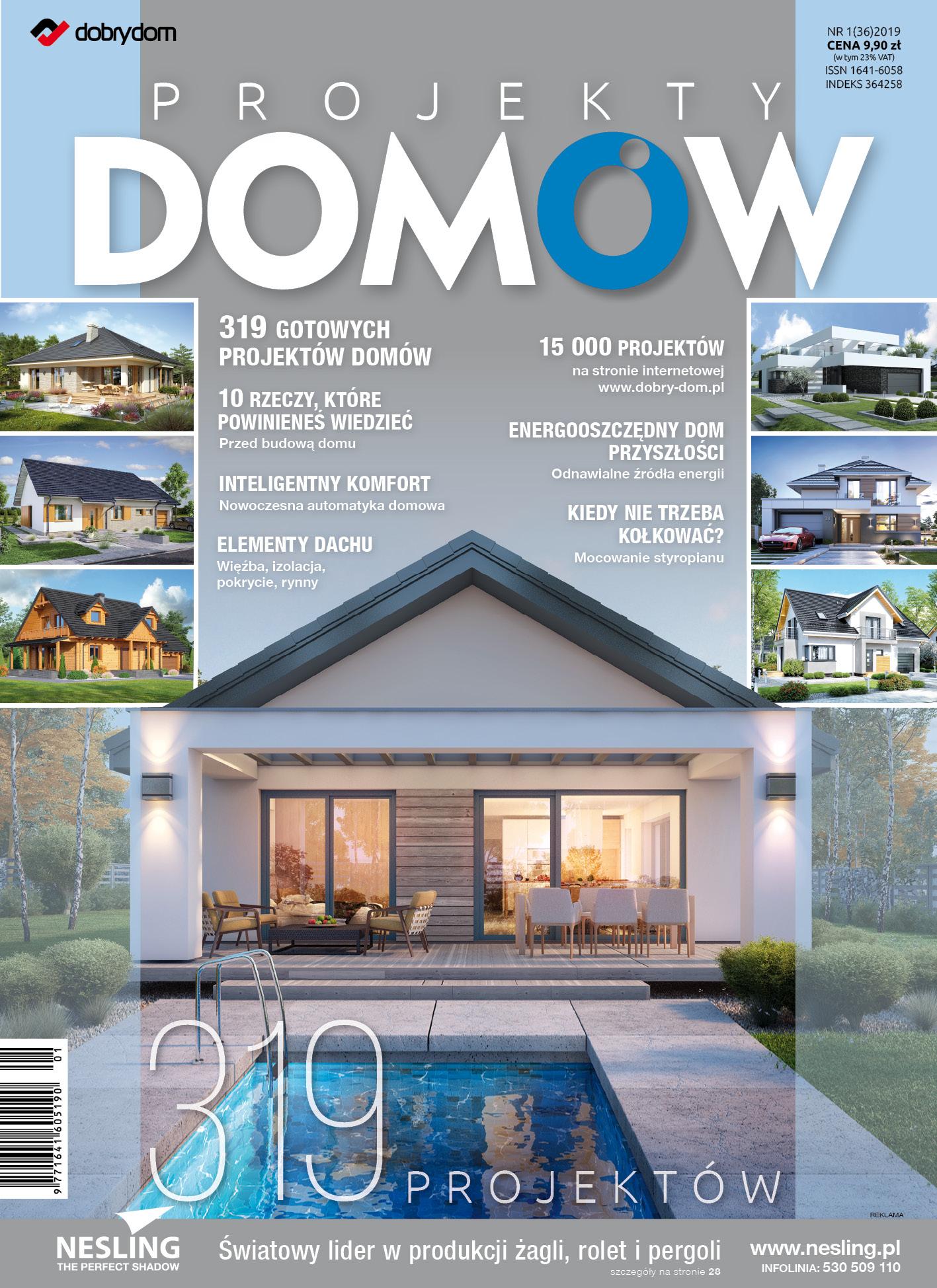 Projekty Domów 1362019 Dobre Produktypl